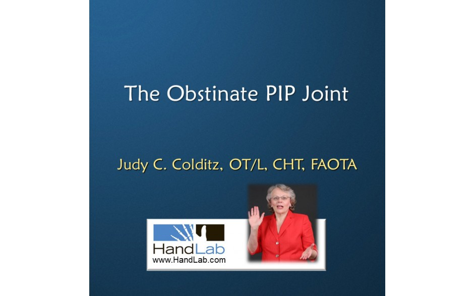 The Obstinate PIP Joint