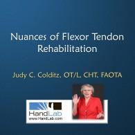 Nuances of Flexor Tendon Rehabilitation